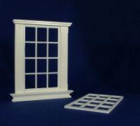 Georgian 12 pane unpedimented window
