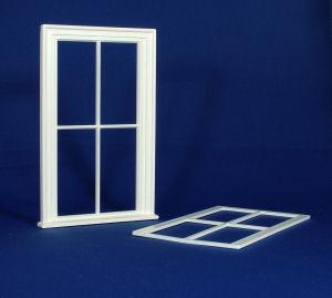 Victorian large 4 pane  window