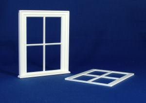 Victorian small 4 pane window