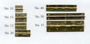 Hinges for Smallest piano size