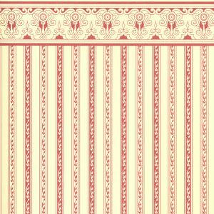 Regency burgundy stripe