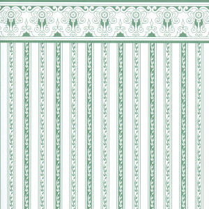 Regency green stripe