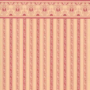 Regency plum stripe on tan