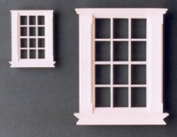 Georgian 12 pane windows