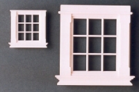 Georgian 9 pane windows