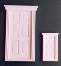 Small Georgian front doors